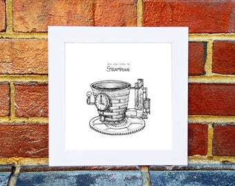 Teacup Tuesday: It's Tea Time for Steampunk