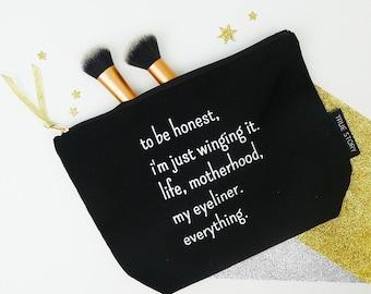 Winging It Make Up Bag