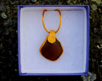 Sea glass Jewellery, Mens Jewellery, Sea-glass Necklace, Sea glass Jewelry, Sea glass pendant, beach pendant