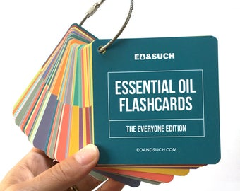 Essential Oil Flashcards: Everyone Edition (not brand specific)