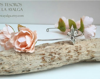 READY TO SHIP romantic floral crown- statement jewelry