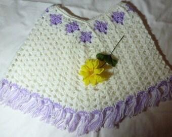Girls Crochet Poncho     RM-193