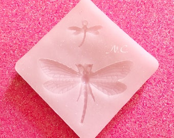 Flexible silicone Cabochon\Stampo Dragonfly Dragonfly Charm