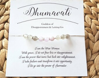Dhumavati Goddess Mala Bracelet