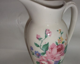 Small Vintage Royal Copley Pitcher