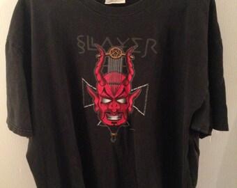 SLAYER shirt, Diabolus in Musica, Rare, 90's Devil, Size XL