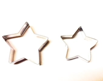 Star Cookie Cutter, Cookie Cutters, Metal Cookie Cutters, Stars, Baking Supplies,