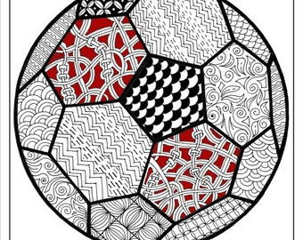 Intricate Coloring Pages For Adults : Adult coloring book download zentangle alphabet letter