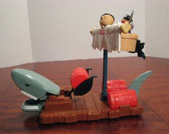 Vintage Fisher Price Shark Raft #77044/7044