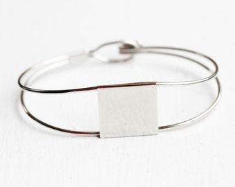 Square Hook Bracelet