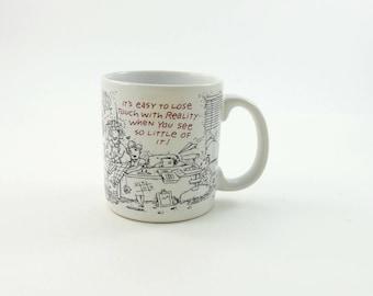 Vintage 80s Funny Coworker Mug, Funny Office Gift, American Greetings, Boss Gift, Coworker Gift, Office Mug, Gift for Boss, Secretary Gift