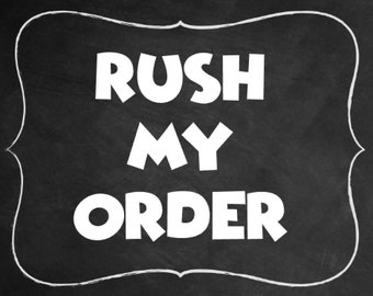 Rush My Order Addon