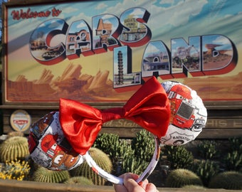 Cars Lightning McQueen and Mater Mouse Ears Headband