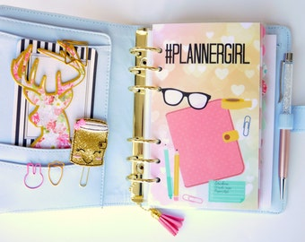Planner Girl Personal, A5, A6, B6 & Pocket Size Planner Dashboards