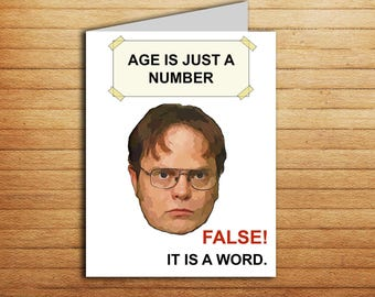 Funny Memes For The Office : The office graduation card printable funny dwight schrute