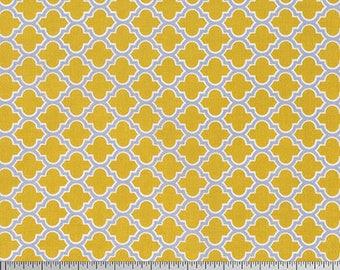 54078 - Joel Dewberry True Colors lodge lattice in straw color - 1/2 yard