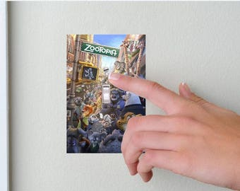 Zootopia-Lightswitch Cover- Zootopia Room Decor