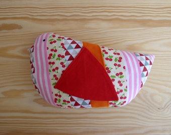 Stuffed bird plush Margaret/Bird fabric