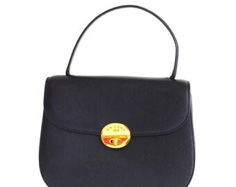 Vintage Lancel black handbag