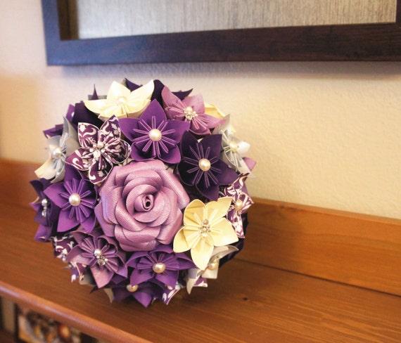items similar to custom wedding kusudama origami paper flower package