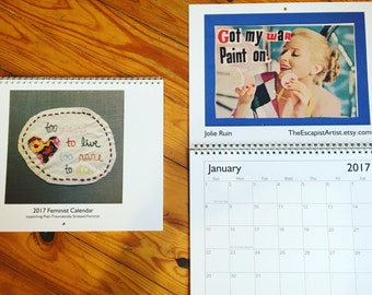 SALE* 2017 Feminist Calendar