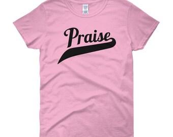 Praise Shirt, Religious Shirt, Church Shirt, Church Lady Shirt, Faith Shirt, Motivational Shirt, Gift for Her, Girlfriend Gift,