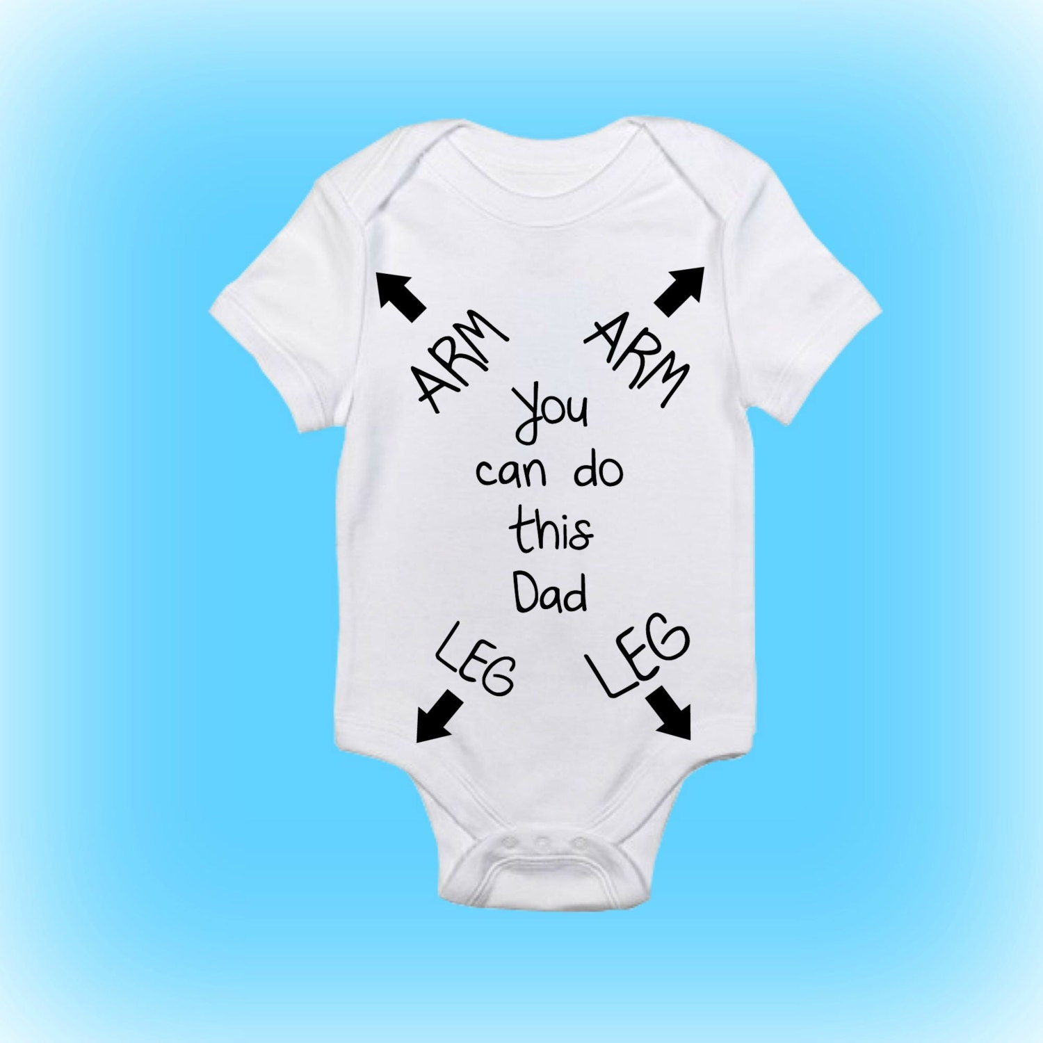 Gift For New Daddy Funny Baby Onesie 174 New Daddy Gift Baby Gift