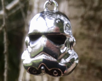 Lovely Star Wars Stormtrooper Pendant Necklace - Movies Jedi