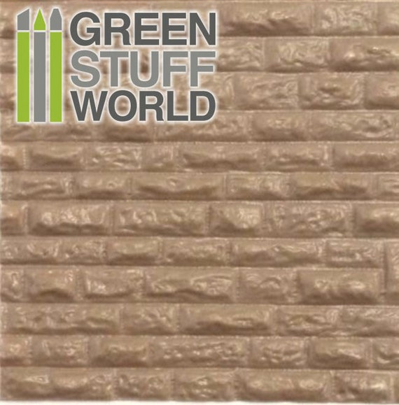 Abs Embossed Plasticard Rough Rock Wall Dressed Stones