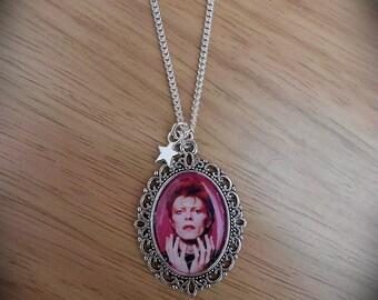 David Bowie Ziggy Stardust Necklace