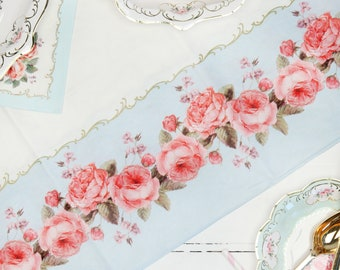 Afternoon Tea Party Tablecloth For High Tea Baby Shower Hen Party Bridal Shower Wedding