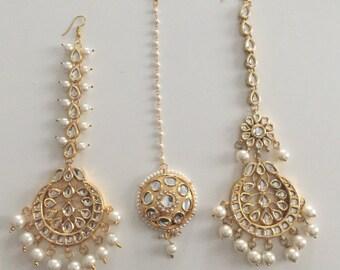 Tika, tikka, maang tika, kundan tika, kundan jewelry, India jewelry, Bollywood, Indian wedding jewelry