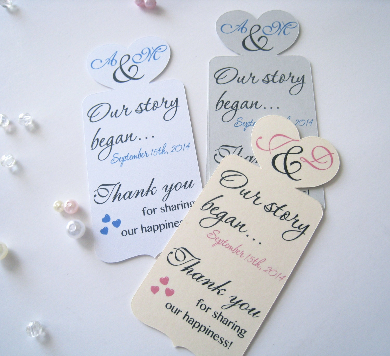 wedding favor bookmarks - Wedding Decor Ideas