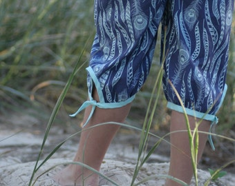 Endless Summer Capri Pants - girls' Summer pants - PDF pattern
