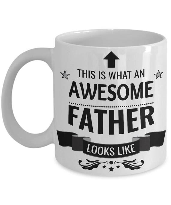 awesome father coffee mug best dad ever worlds best dad