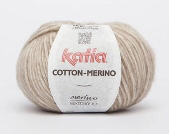 Pincushion COTTON oatmeal - color tone 104 beige Katia