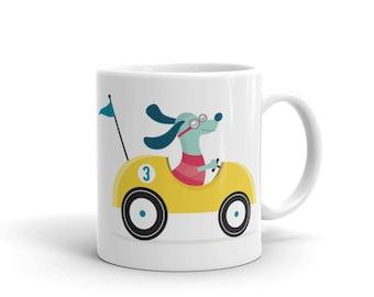 Derby Dog Mug
