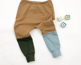 Colour Block trousers