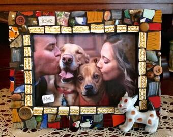 Mosaic Pet Frame