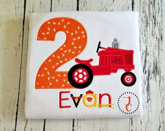 Farm Birthday Shirt - Tractor Birthday Shirt, Chicken Birthday Shirt, Farm Party, Farm Animals Birthday, Tractor Shirt, Farm Life, Country