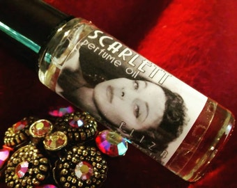 Scarlett--5ml Perfume Oil--Classic Hollywood Perfume