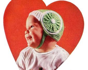 Chinstrap Hat Crochet Pattern Baby Hat Cap Crochet Pattern PDF Instant Download