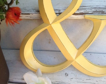Wall Decor, Ampersand, Symbol, Wedding Decor