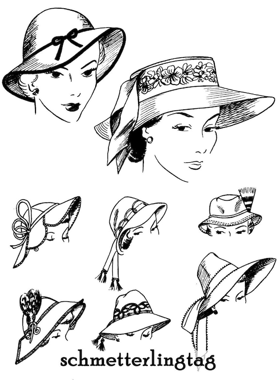 1952 Millinery Book Hat Making Make Hats Restyle Lowrie