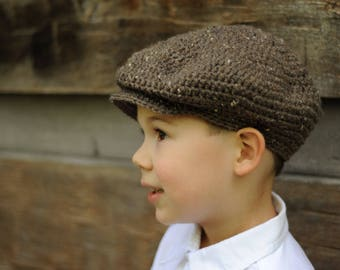 Scally Cap, Newsboy Hat for Boys, (size: 3-6 years) - Ready to Ship