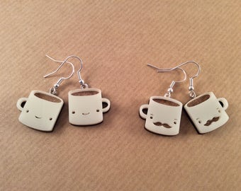 Mug Earrings