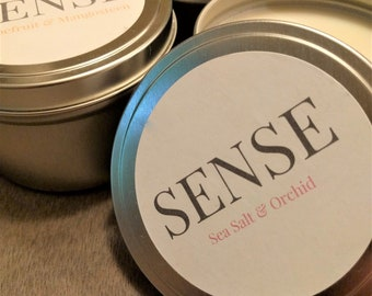 SENSE of Summer Soy Candle Collection