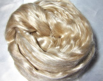 Exotic Roving Baby Camel/Silk 50/50 blend top!
