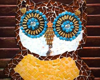 Mosaic Art Owl