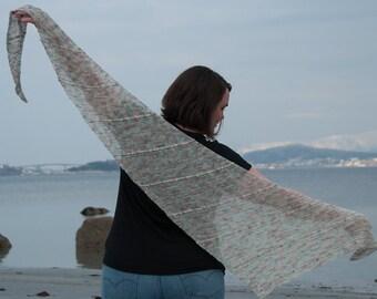 CROCHET PATTERN - Lenio Shawl Crochet Pattern - PDF Crochet Pattern - Crochet Shawl Pattern, Crochet Scarf Pattern, Wrap Crochet Pattern